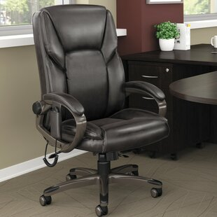 heated massage office chair wayfair