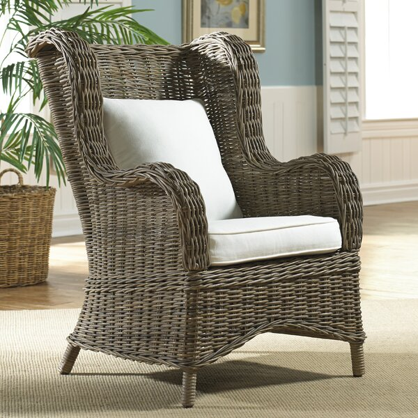 Exuma Wingback Chair by Panama Jack Sunroom