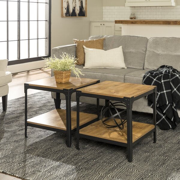 Cainsville End Table Set (Set Of 2) By Greyleigh™