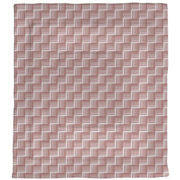 Jaya Basketweave Stripes Microfiber Single Reversible Comforter
