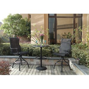 Kentland 3 Piece Pub Table Set by Darby Home Co