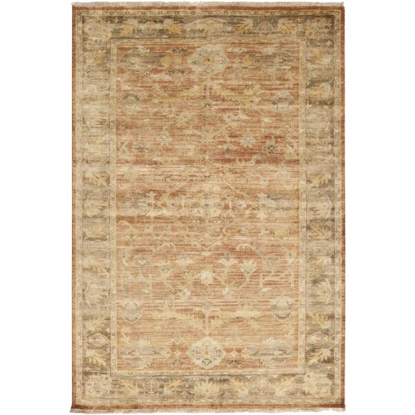 Eugen Beige/Brown Area Rug by Darby Home Co