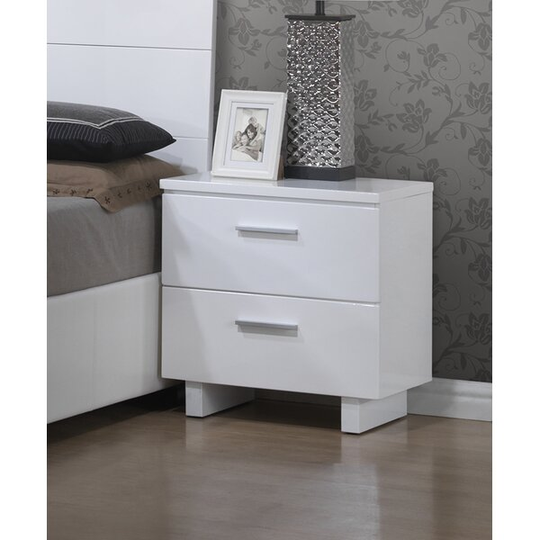 Branchville 2 Drawer Nightstand by A&J Homes Studio