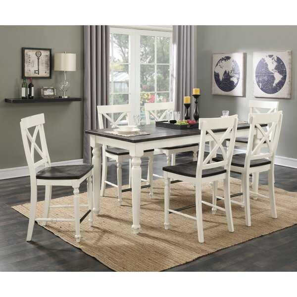 Mulford 7 Piece Extendable Dining Set by Beachcrest Home