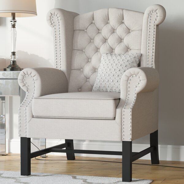 Sabion Wingback Chair by Willa Arlo Interiors Willa Arlo Interiors