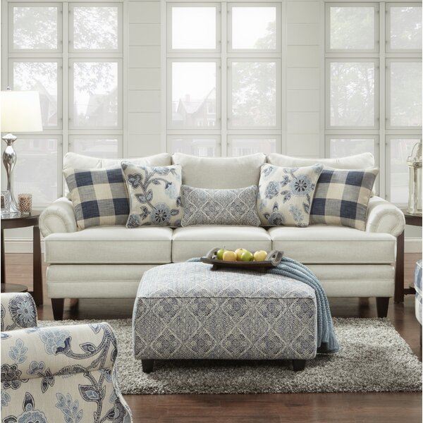 Best Deal Shept Mallet Linen Sofa by Gracie Oaks by Gracie Oaks
