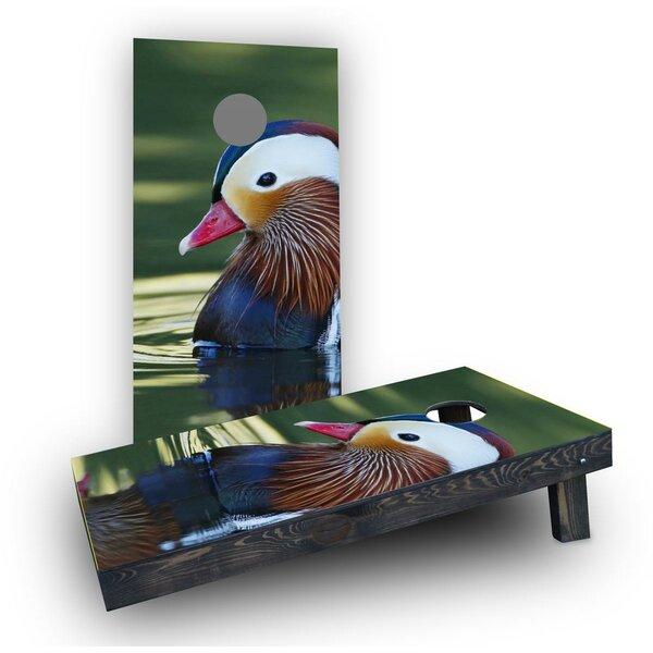 Duck Hunting Theme Cornhole Boards (Set of 2) by Custom Cornhole Boards