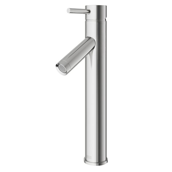 Dior Single Hole Bathroom Faucet with Optional Dra