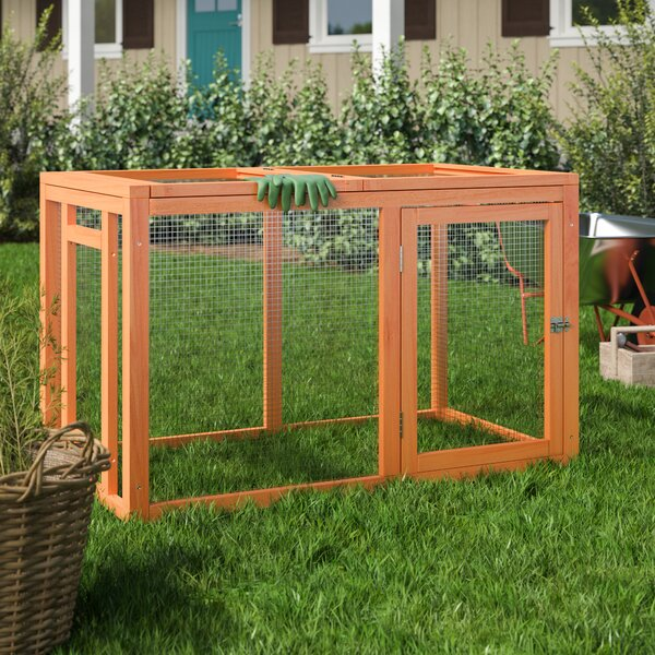 Freddy Outdoor Chicken Run with Mesh Cover by Arch