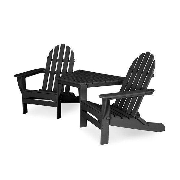 Adirondack Seating Set Plastic/Resin by POLYWOOD POLYWOOD®