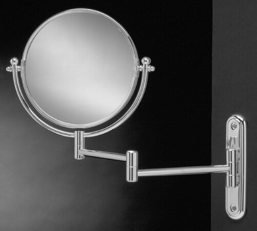 Wall Mount Swinging Arm Mirror by Wildon Home ®