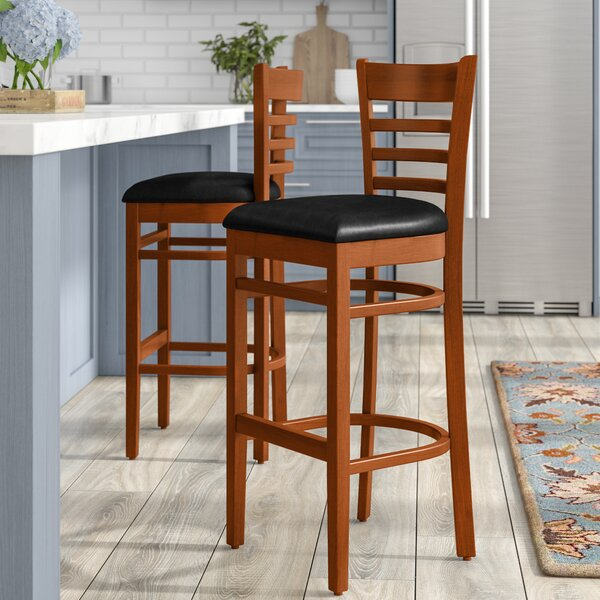Lyman 29.5 Bar Stool (Set of 2) by Andover MillsLyman 29.5 Bar Stool (Set of 2) by Andover Mills