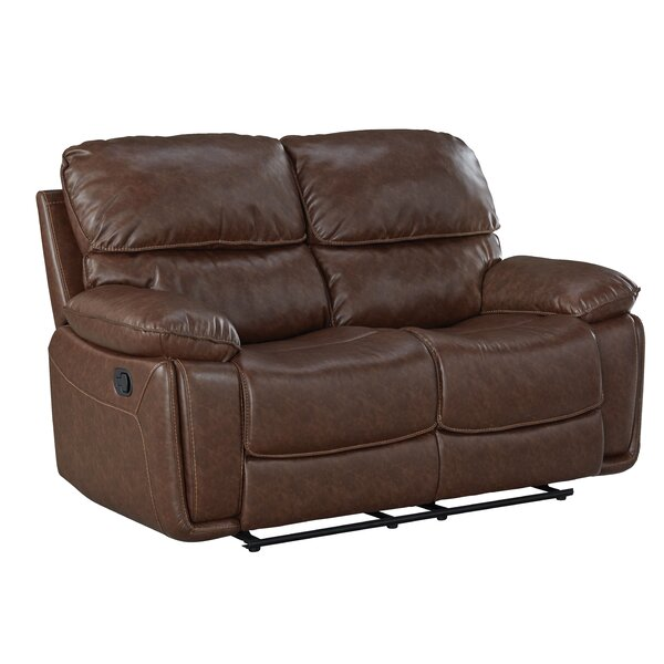 New Trendy Menlo Reclining Loveseat by Red Barrel Studio by Red Barrel Studio
