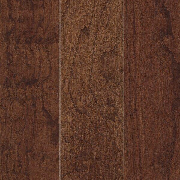 La Grotta 5 Engineered Hardwood Flooring in Midnight Cherry by Mohawk Flooring