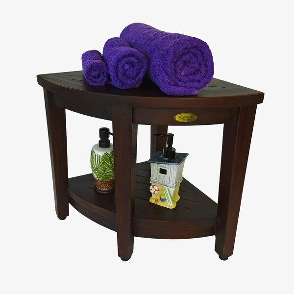 Outdoors Solid Wood Side Table by Decoteak