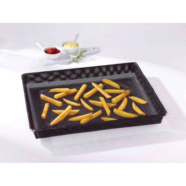 Non-Stick Oven Crisper Basket Baking Sheet by Paderno World Cuisine