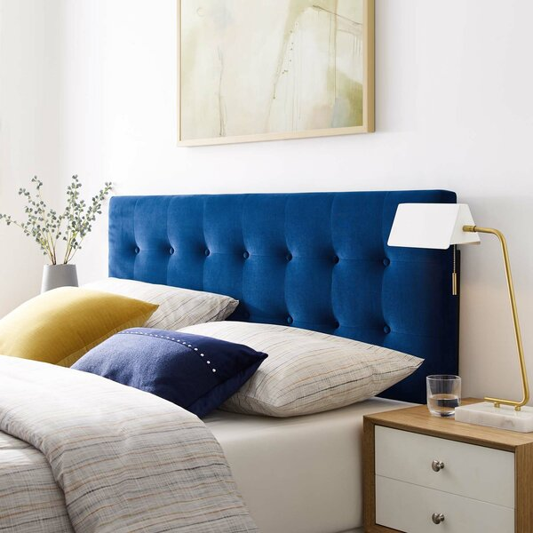 Wykoff Full Upholstered Panel Headboard by Mercer41