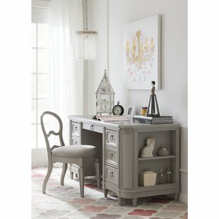 Affordable Clementine Court Credenza Desk and Chair Set ByStone & Leigh™ by Stanley Furniture