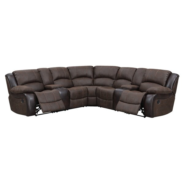 Latest Style Dalessio Symmetrical Reclining Sectional by Red Barrel Studio by Red Barrel Studio