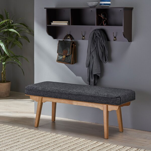 Vanetten Upholstered Bench by Union Rustic Union Rustic