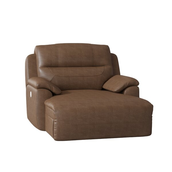 Five Star Power Recliner With Ottoman By Southern Motion