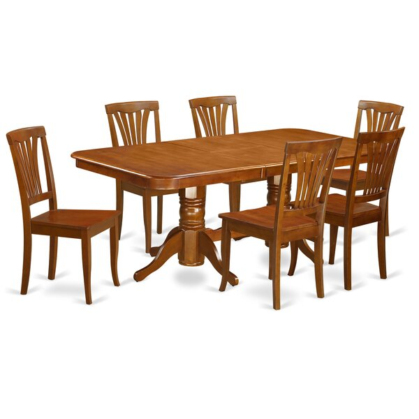 Pillsbury 7 Piece Extendable Dining Set by August Grove