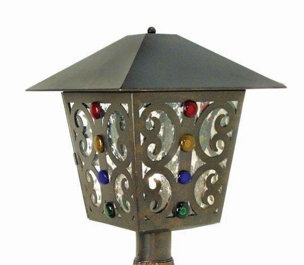 Julie 1-Light Lantern Head by 2nd Ave Design