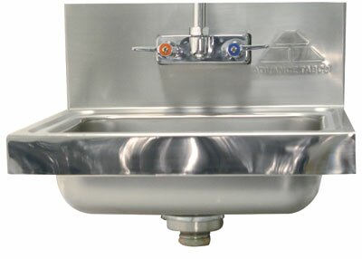 Mirror Highlight Hand Sink Upgrade by Advance Tabco