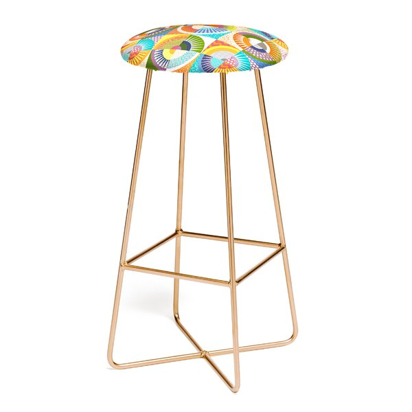 Sharon Turner Seaview Beauty 30 Bar Stool by East Urban Home
