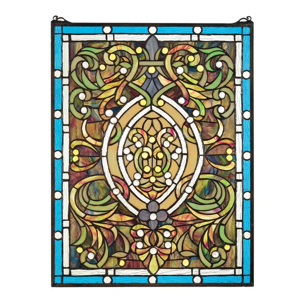 Beguiled Tiffany Stained Glass Window by Design Toscano