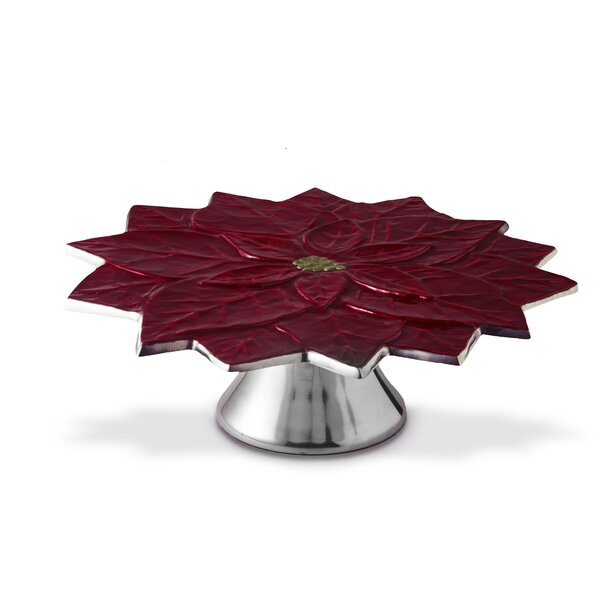 Poinsettia 13 Cake Stand by Julia Knight Inc