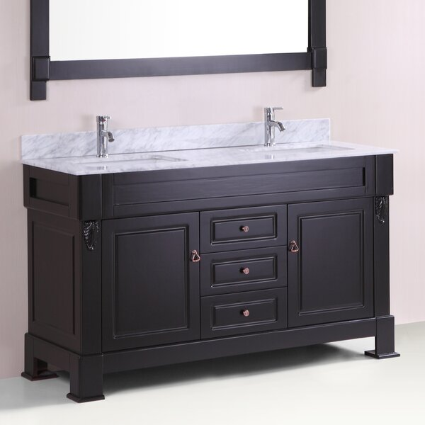 Honoria 60 Double Bathroom Vanity Set by Gracie Oaks