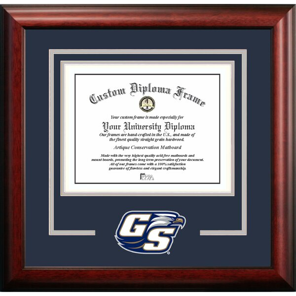 NCAA Georgia Spirit Diploma Picture Frame by Campus Images