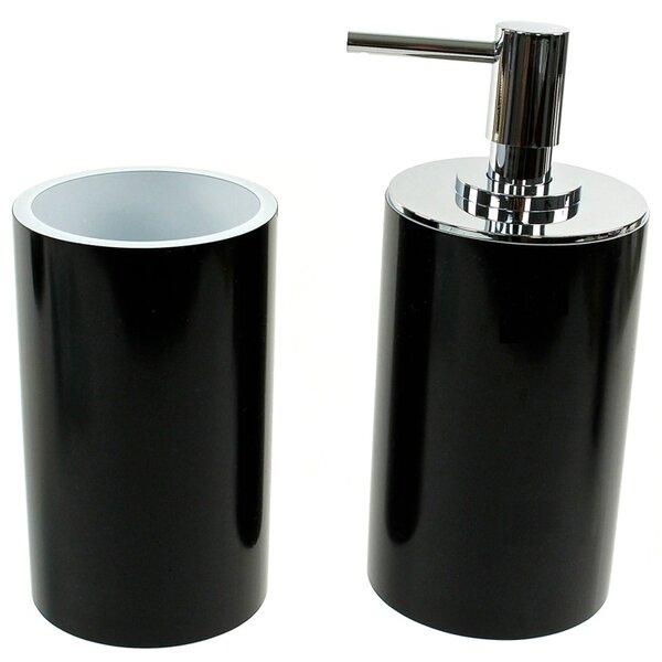 Yucca 2-Piece Bathroom Accessory Set by Gedy by Nameeks