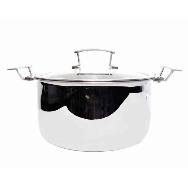 Gourmet 5-qt. Soup Pot with Lid by True Induction