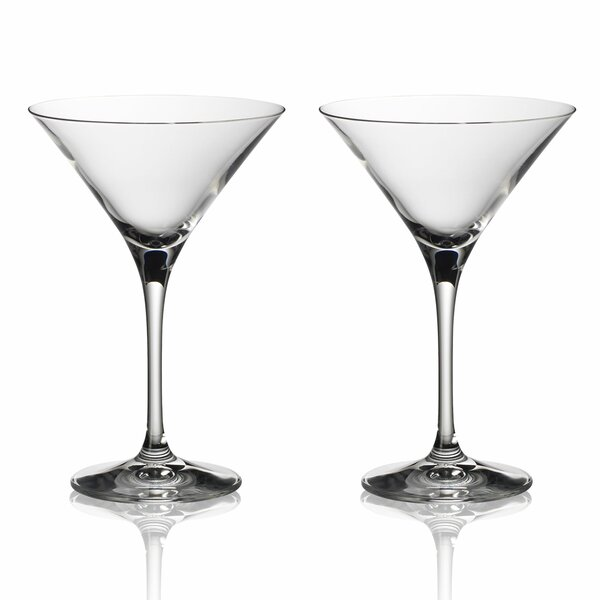 Purismo Bar 8 oz. Crystal Liqueur Glass (Set of 2) by Villeroy & Boch