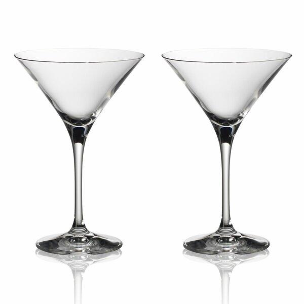 Purismo Bar 8 oz. Crystal Liqueur Glass (Set of 2) by Villeroy & Boch