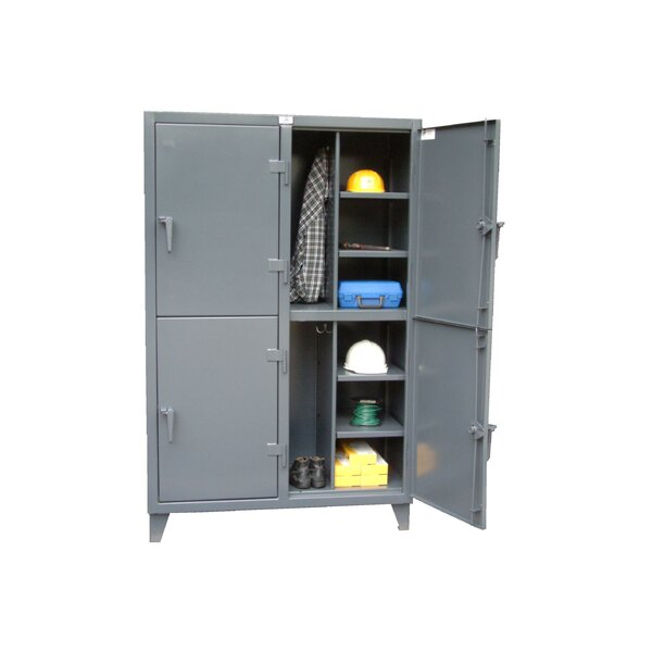 2 Tier 2 Wide Storage Lockers by Strong Hold Produ