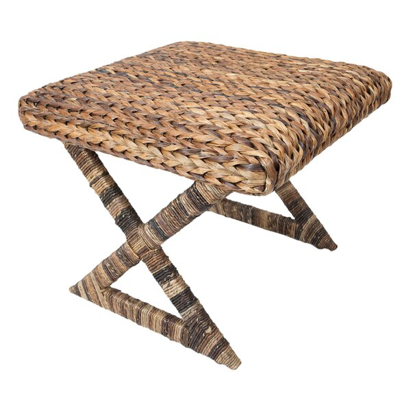 Seagrass Stool by BirdRock Home