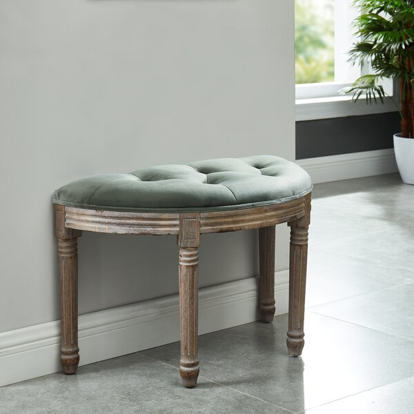 Quane Upholstered Bench by Ophelia & Co.