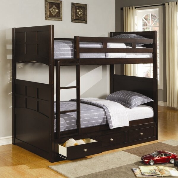 Twin over Twin Bunk Bed by Wildon Home®