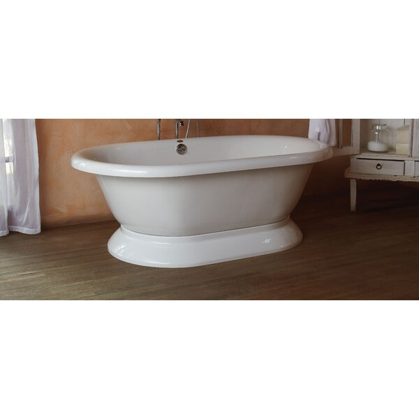 Era Double-Ended 71 x 42 Freestanding Soaking Bathtub by Jacuzzi®