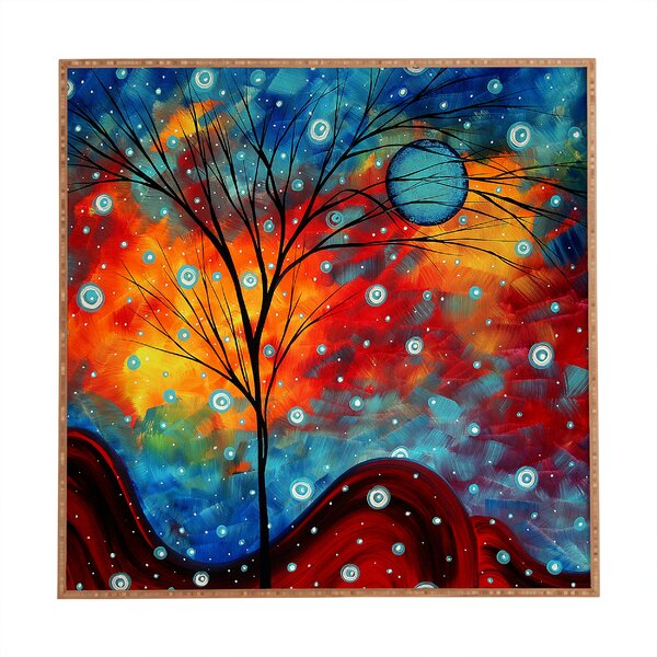Summer Snow Framed Painting Print by East Urban Home