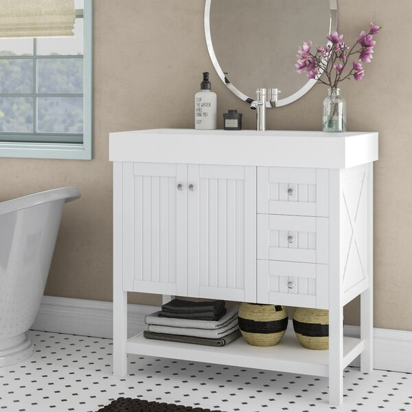 Harward 35 Single Bathroom Vanity Set by Highland