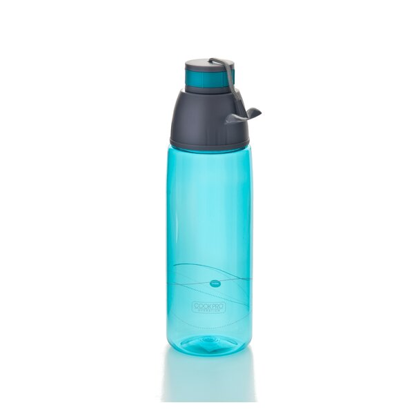 Savanna Sports 27 oz. Plastic Water Bottle by Ebern Designs