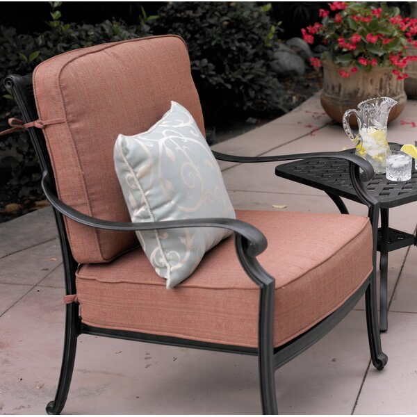 Berenice Patio Chair with Cushions (Set of 4) by Astoria Grand