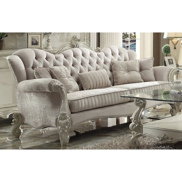 Timothy Standard Sofa with 5 Pillows by Astoria Grand