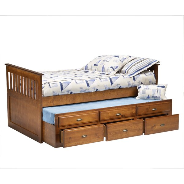 Twin Mate's Bed With Trundle by Bernards