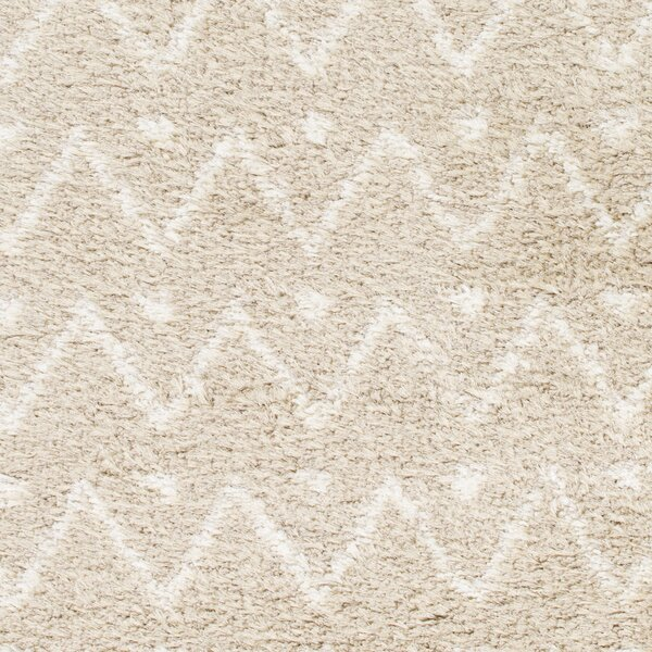Hauser Beige/Ivory Area Rug by Bungalow Rose