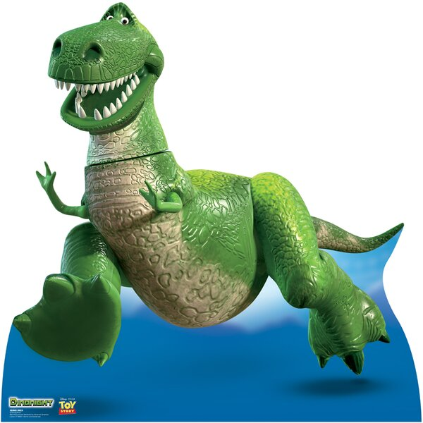 REX - Disney / Pixar Toy Story Dinomight Cardboard Standup by Advanced Graphics